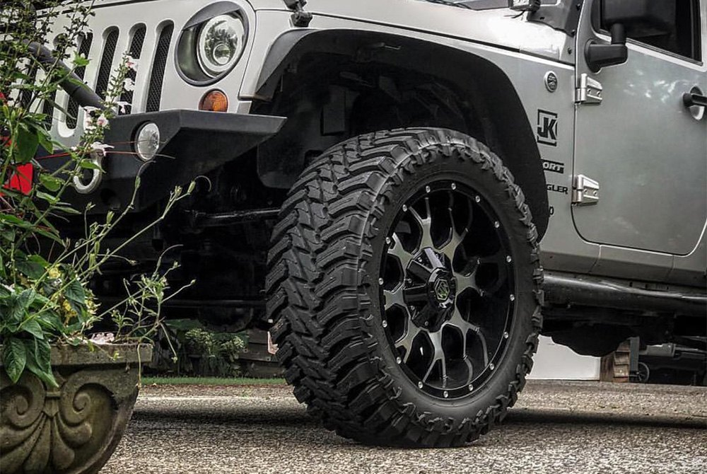 Jeep Wrangler Tires And Rims >> MAYHEM® 8015 WARRIOR Wheels - Black with Machined Face Rims