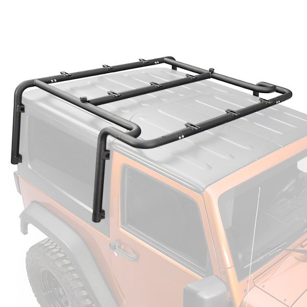 Mbrp 174 Jeep Wrangler 4 Doors 2007 Roof Rack System