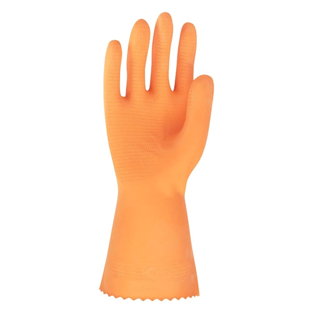 Orange Latex Gloves 37
