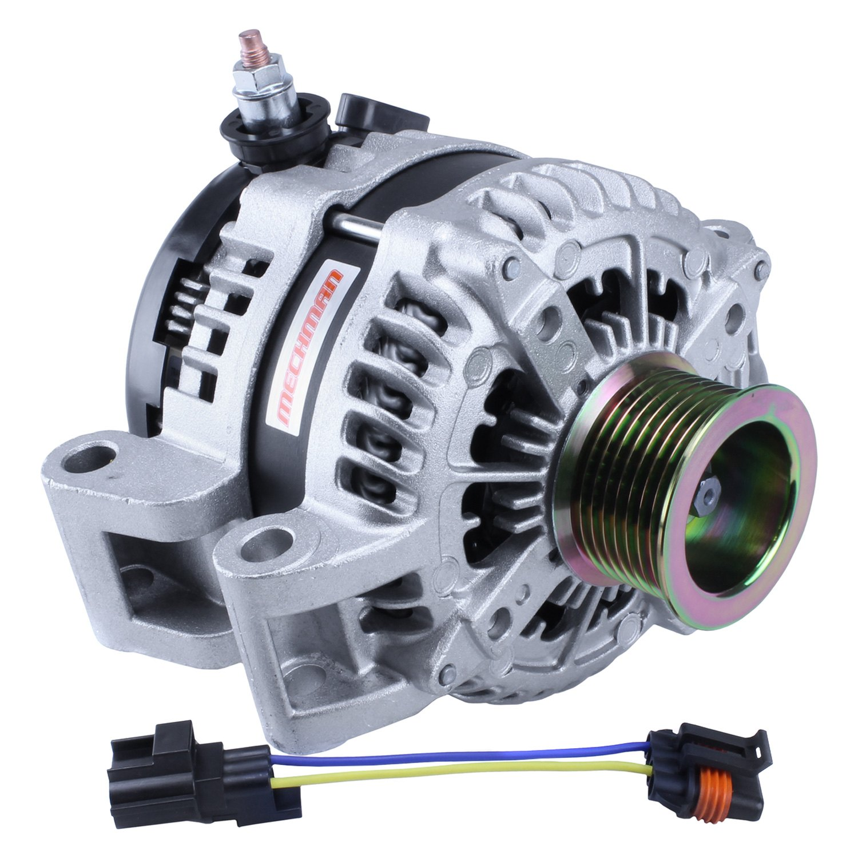 7750240 mechman alternators� e series billet tech alternator mechman alternator wiring diagram at gsmx.co