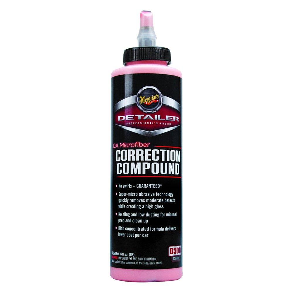 Car Detailing Prices >> Meguiars® D30016 - DA™ Microfiber Correction Compound
