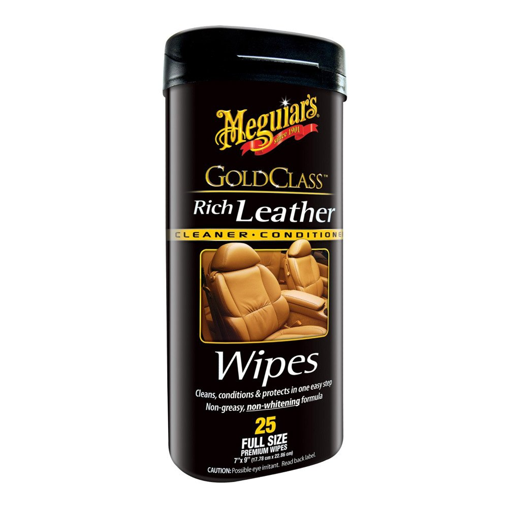 meguiars g10900 gold class rich leather wipes. Black Bedroom Furniture Sets. Home Design Ideas