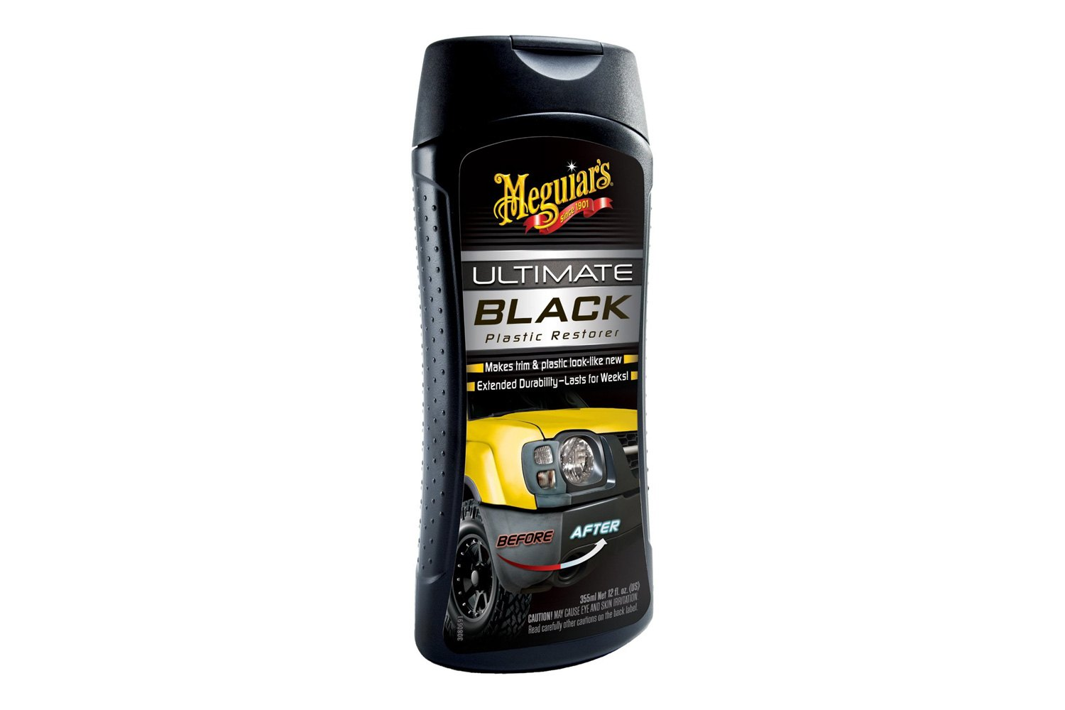 Meguiars g15812 ultimate black plastic restorer Black interior car trim restorer