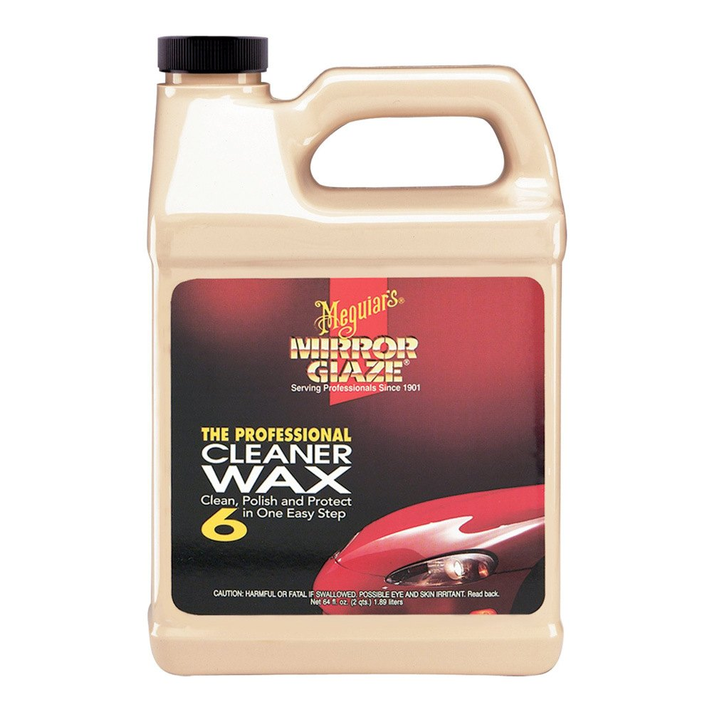 Meguiars m0664 mirror glaze cleaner and wax 64 oz for Mirror glaze