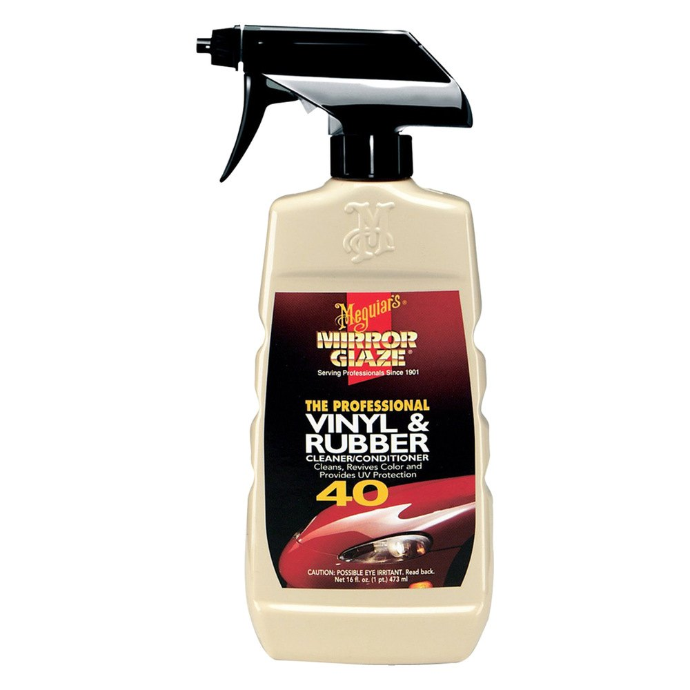 meguiars m4016 mirror glaze vinyl rubber cleaner and conditioner. Black Bedroom Furniture Sets. Home Design Ideas