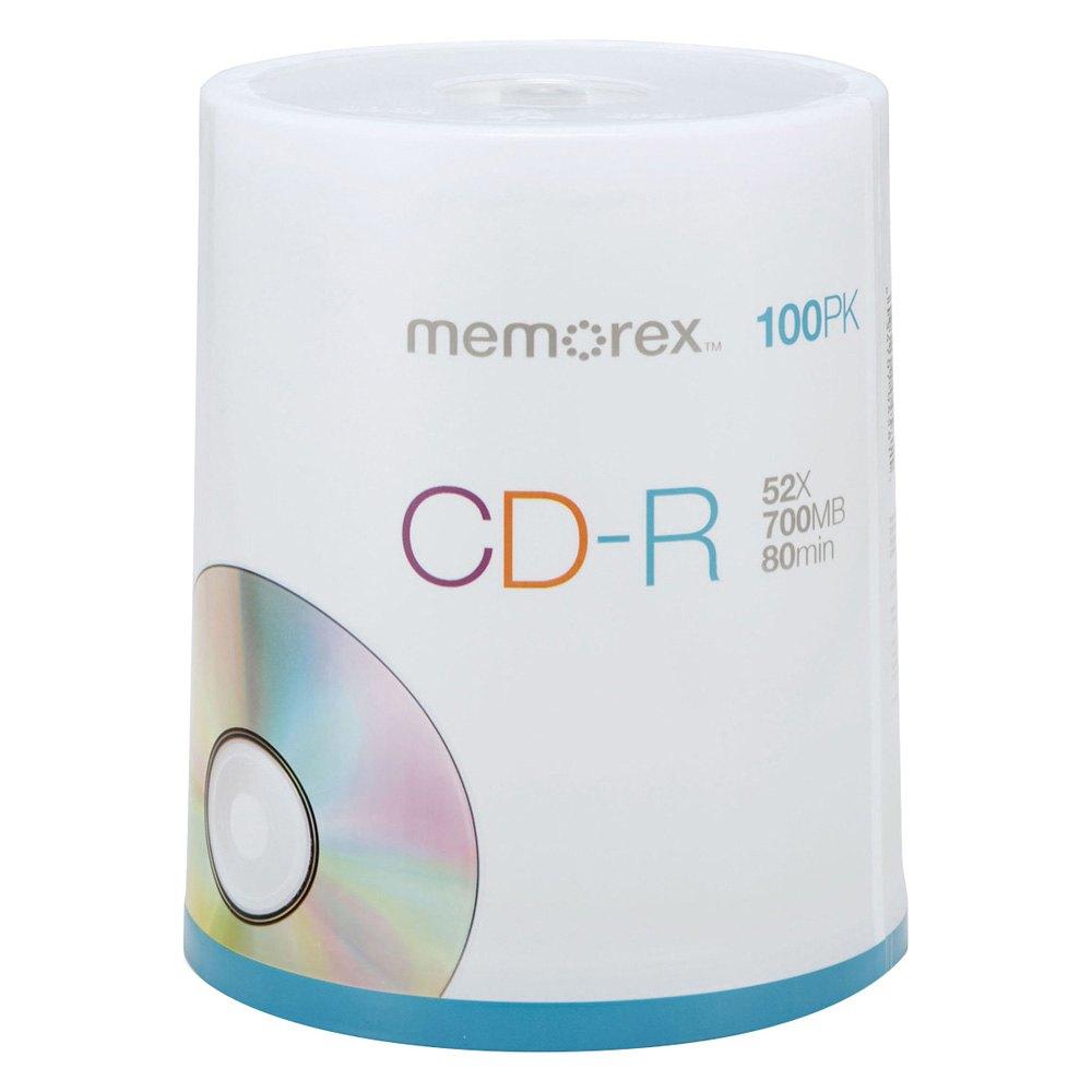 memorex 32024581 52x cd r media. Black Bedroom Furniture Sets. Home Design Ideas