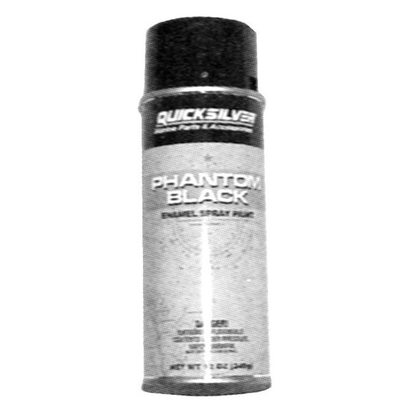 Mercury marine 802878q1 phantom black spray paint 12 oz Black spray paint