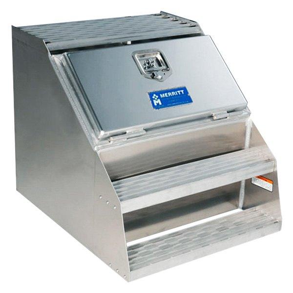 ... Aluminum® - Single Door Saddle Box with Smooth Door and ...  sc 1 st  CARiD.com & Merritt Aluminum® - Single Door Saddle Box pezcame.com