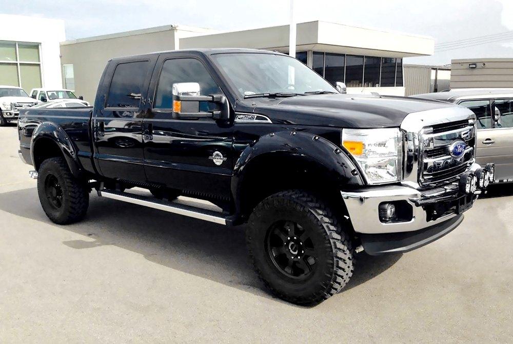 Black rims for ford f250