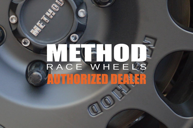 Method Race Wheels Vex Wheels Titanium With Matte Black Lip