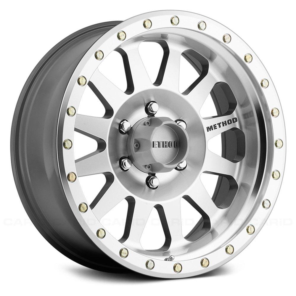 method race 304 double standard wheels 17x8 5 6x135 machined Ford Model A method race 304 double standard wheels 17x8 5 6x135 machined rims set of 4