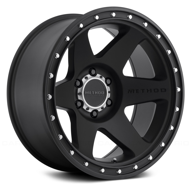 Method Race Wheels 174 610 Con6 Wheels Matte Black Rims