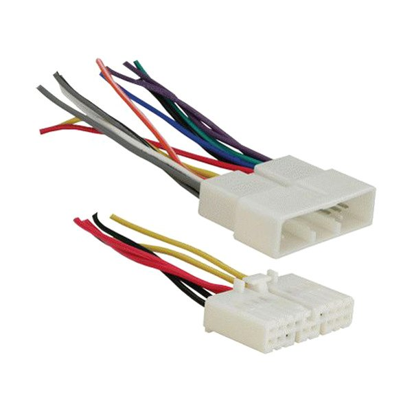 Metra Wiring Harness For Oem Radio : Metra t aftermarket radio wiring harness with