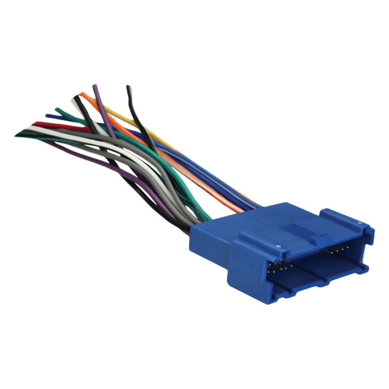 70-2001 Radio Wiring Harness For Chevy Cavalier on