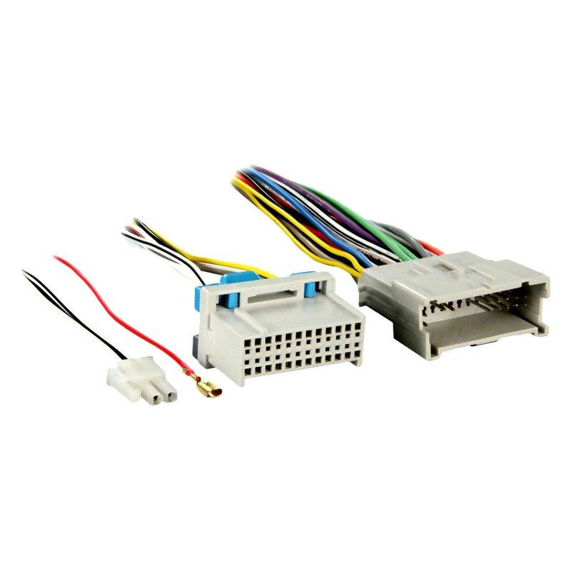 metra® - kia sorento 2003 oe radio relocation wiring harness  carid.com