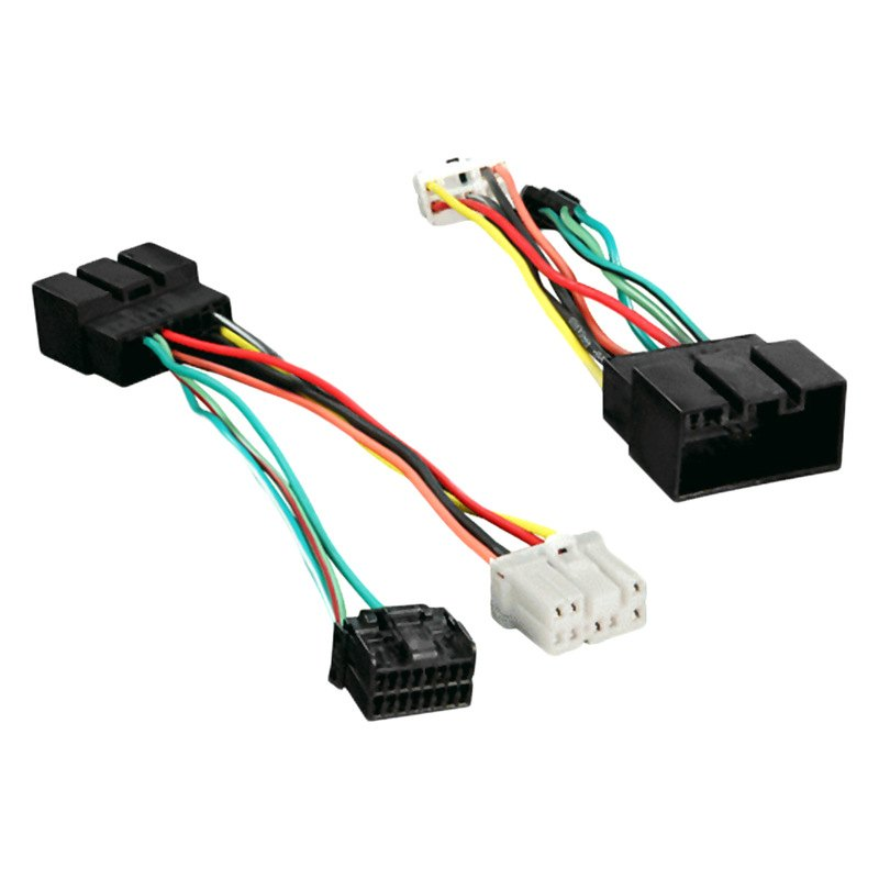 Metra® 70-5716 - Aftermarket Radio Wiring Harness with OEM Plug on