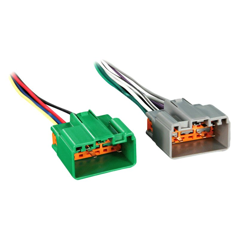 Metra aftermarket radio wiring harness with oem