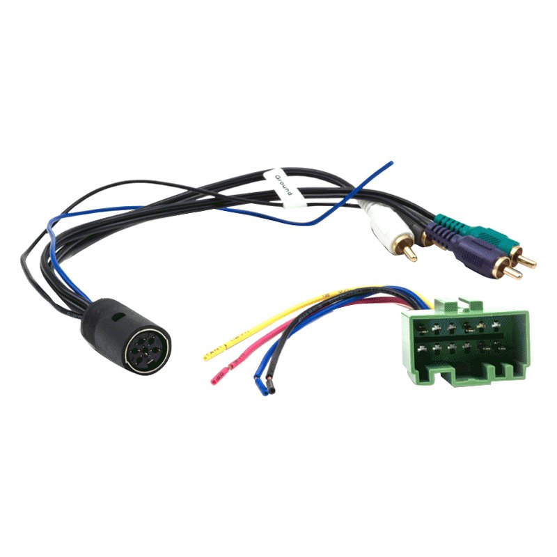 Metra® 70-9223 - Aftermarket Radio Wiring Harness with OEM Plug and ...