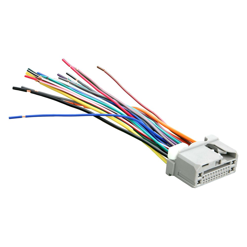 metra 71 1729 factory replacement wiring harness with oem radio plug rh carid com factory wiring harness for radio factory wiring harness for radio