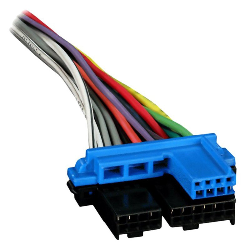 Metra® - GMC CK Pickup 1988 Factory Replacement Wiring Harness with OEM  Radio PlugCARiD.com