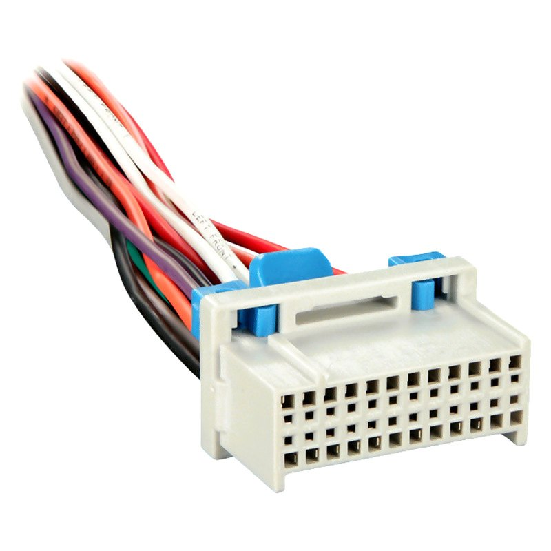 Metra factory replacement wiring harness with
