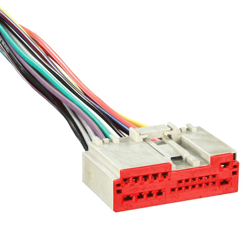factory wiring harness replacement solidfonts metra 71 5520 factory replacement wiring harness oem radio