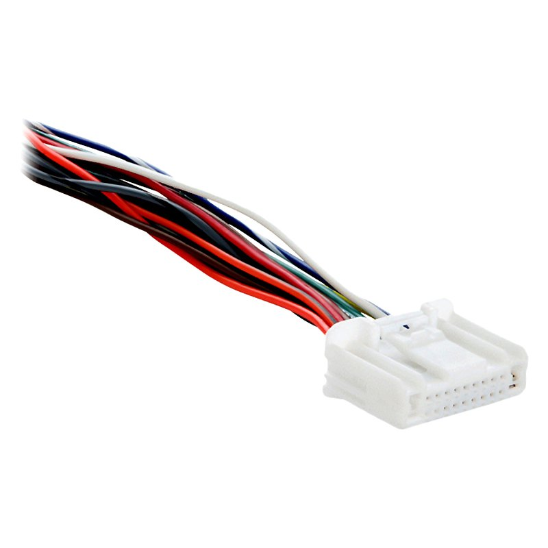 Metra® - Factory Replacement Wiring Harness with OEM Radio Plug on