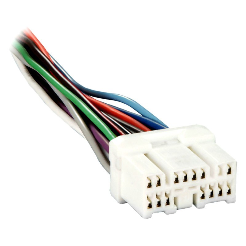 Metra® - Toyota Camry 1995 Factory Replacement Wiring Harness with OEM Radio  PlugCARiD.com