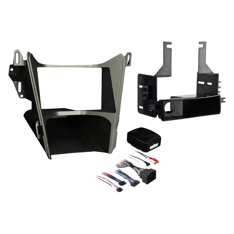 metra® gmc terrain 2010 2014 single double din gray stereo dash kit 1996 gmc sierra 4x4 actuator wire diagram metra® single double din gray stereo dash kit