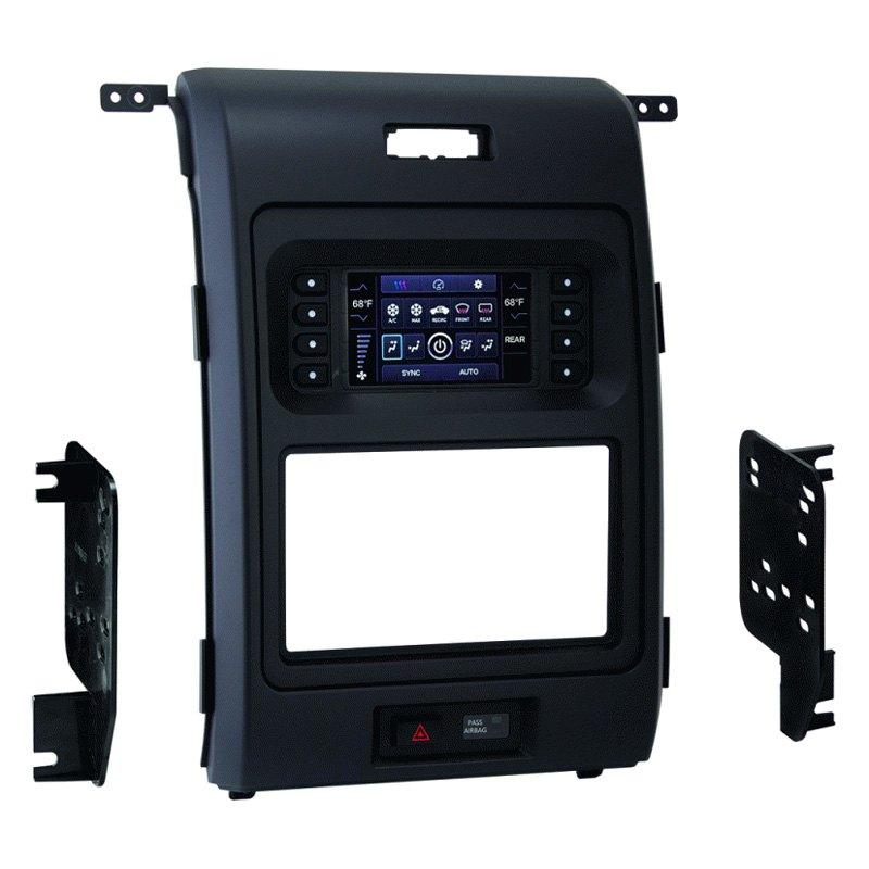 Metra� Singledouble Din Matte Black Stereo Dash Kit: Metra Wiring Harness Kit For 2014 F150 At Eklablog.co