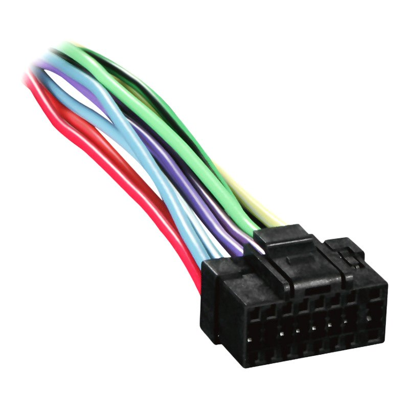 al2x8 0001 metra� al2x8 0001 16 pin wiring harness with aftermarket stereo alpine stereo harness at edmiracle.co