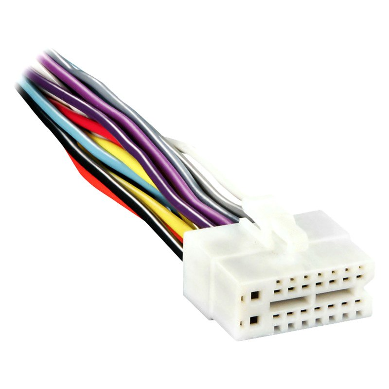 cl2x8 0001 metra� cl2x8 0001 16 pin wiring harness with aftermarket stereo db345mp clarion wiring diagram at bakdesigns.co