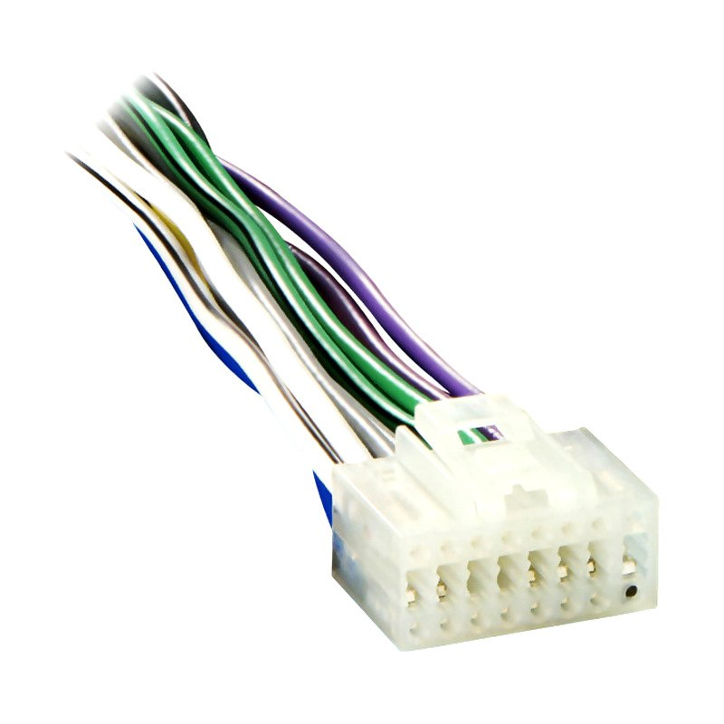 ec2x8 0001 metra� ec2x8 0001 16 pin wiring harness with aftermarket stereo  at fashall.co