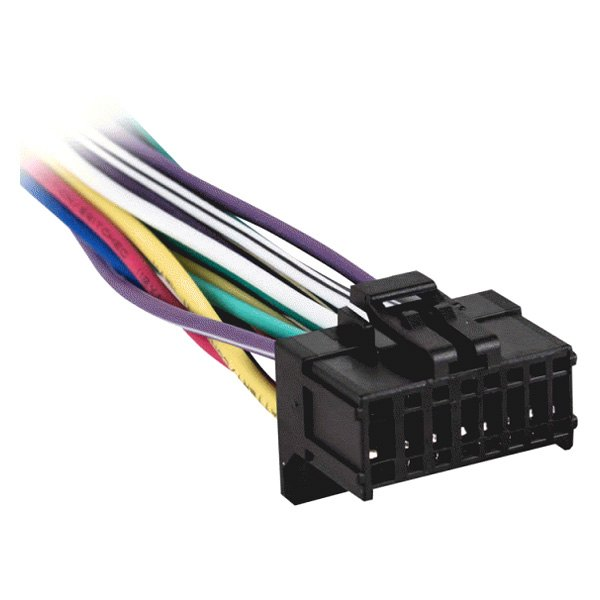 metra 174 pr01avh 0001 16 pin wiring harness with aftermarket stereo plugs for pioneer avh series