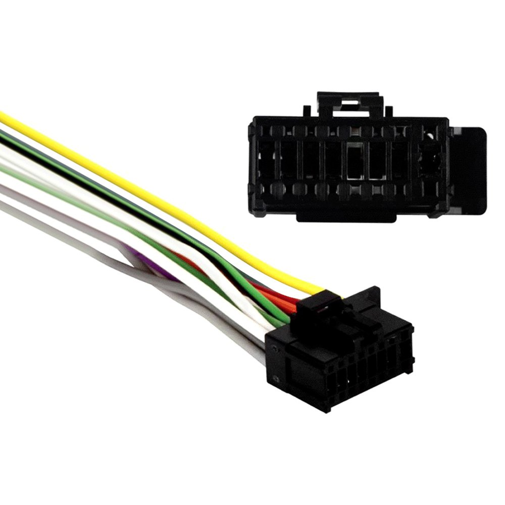pr04 0001 metra� pr04 0001 16 pin wiring harness with aftermarket stereo wiring harness pioneer deh 14ub at edmiracle.co