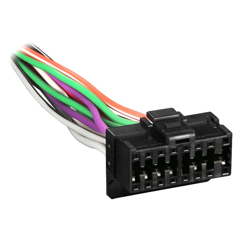 [SCHEMATICS_4PO]  Metra® PR2X8-0001 - 16-pin Wiring Harness with Aftermarket Stereo Plugs for  Pioneer | 16 Pin Wiring Harness |  | CARiD.com