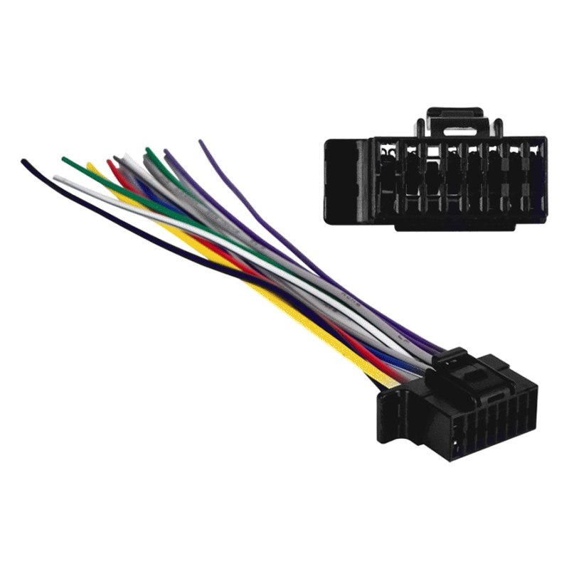 metra sy2x8 0001 16 pin wiring harness with aftermarket stereo rh carid com 16 pin wiring harness wire diagram kd-hdr30 16 pin wiring harness walmart