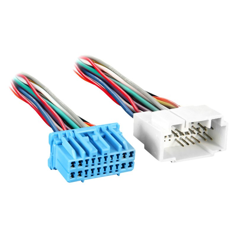 Metra t wiring harness with oem plugs and