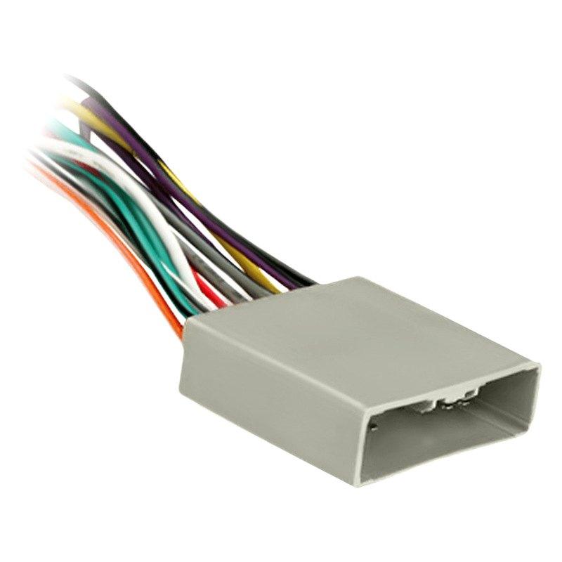 Metra honda civic wiring harness with oem plugs