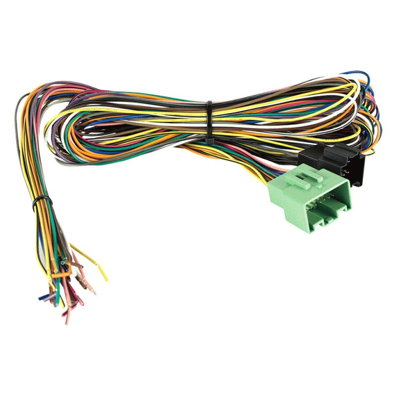 Details About Metra Wiring Harness With Plugs And Amplifier Bypass