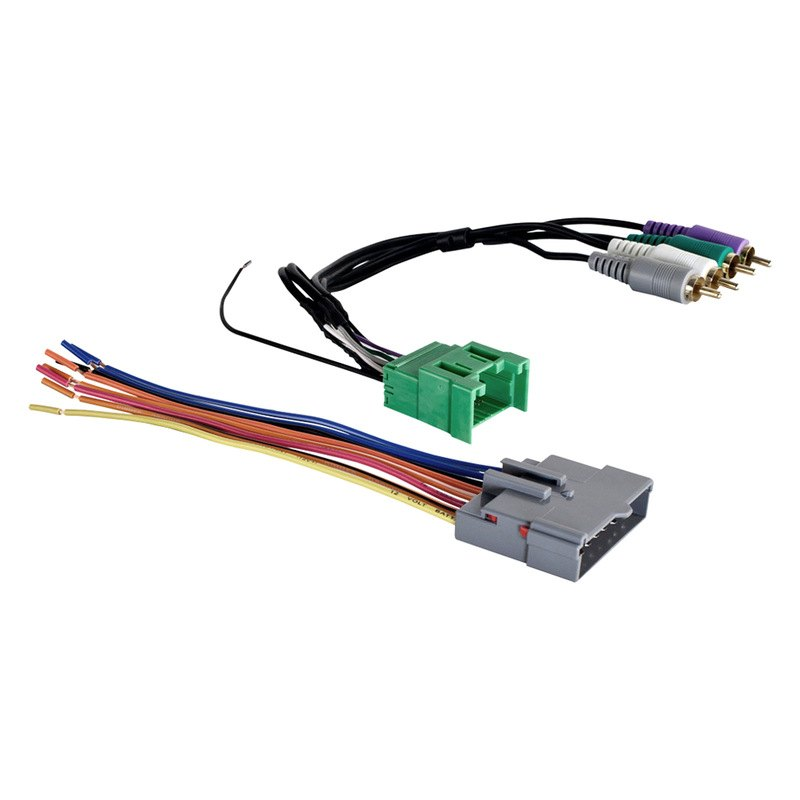 Ford Wiring Harness Kits : Metra ford explorer  wiring harness with oem