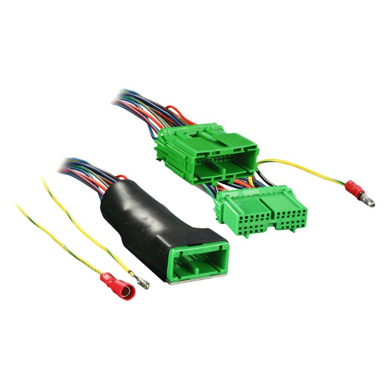 Metra dz wiring harness with oem plugs