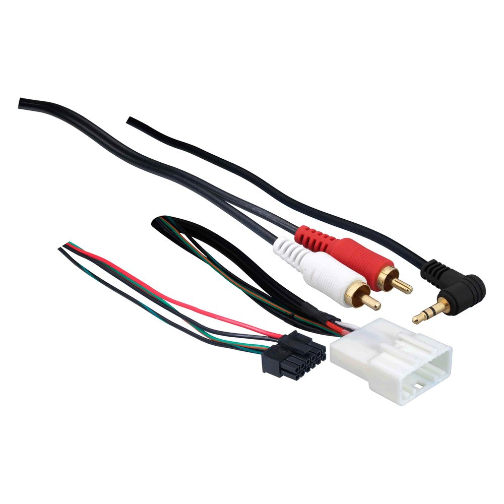 Metra wiring harness with oem plugs and