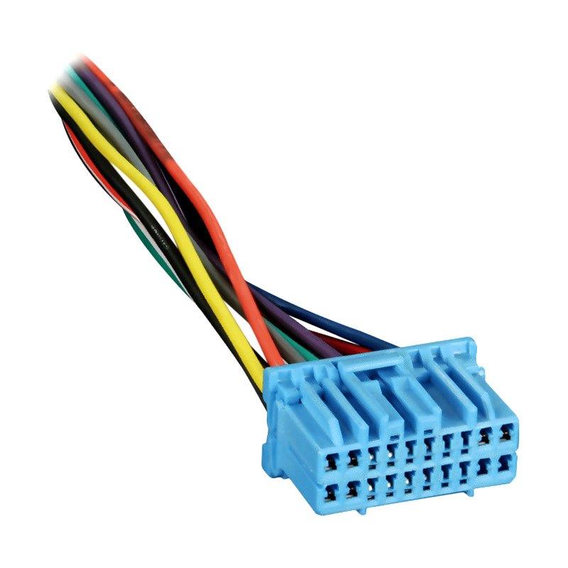 Radio Wiring Harness Metra : Metra honda civic wiring harness with oem radio plugs