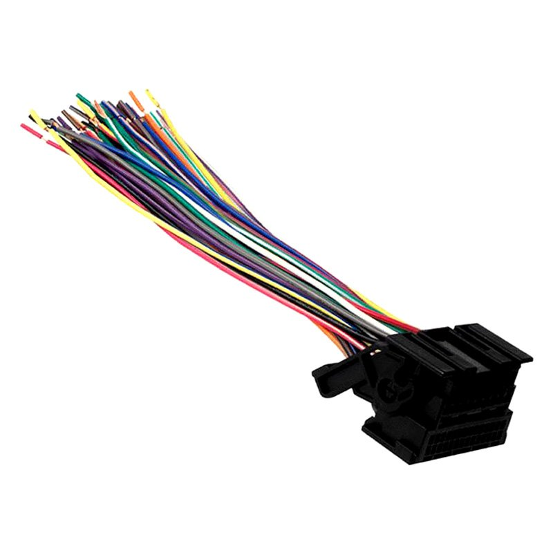 metra 174 chevy silverado 2012 2013 wiring harness with oem radio plugs
