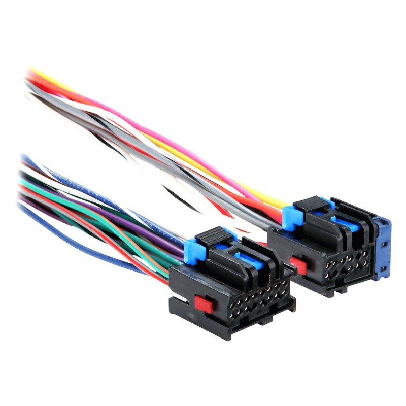 Metra wiring harness with oem radio plugs