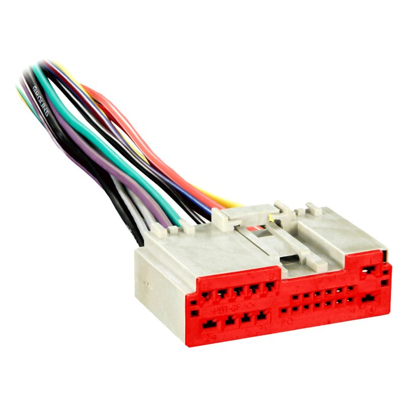 metra 174 71 5520 wiring harness with oem radio plugs