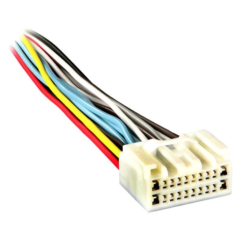metra 174 71 8113 toyota tundra 2003 wiring harness with oem radio plugs