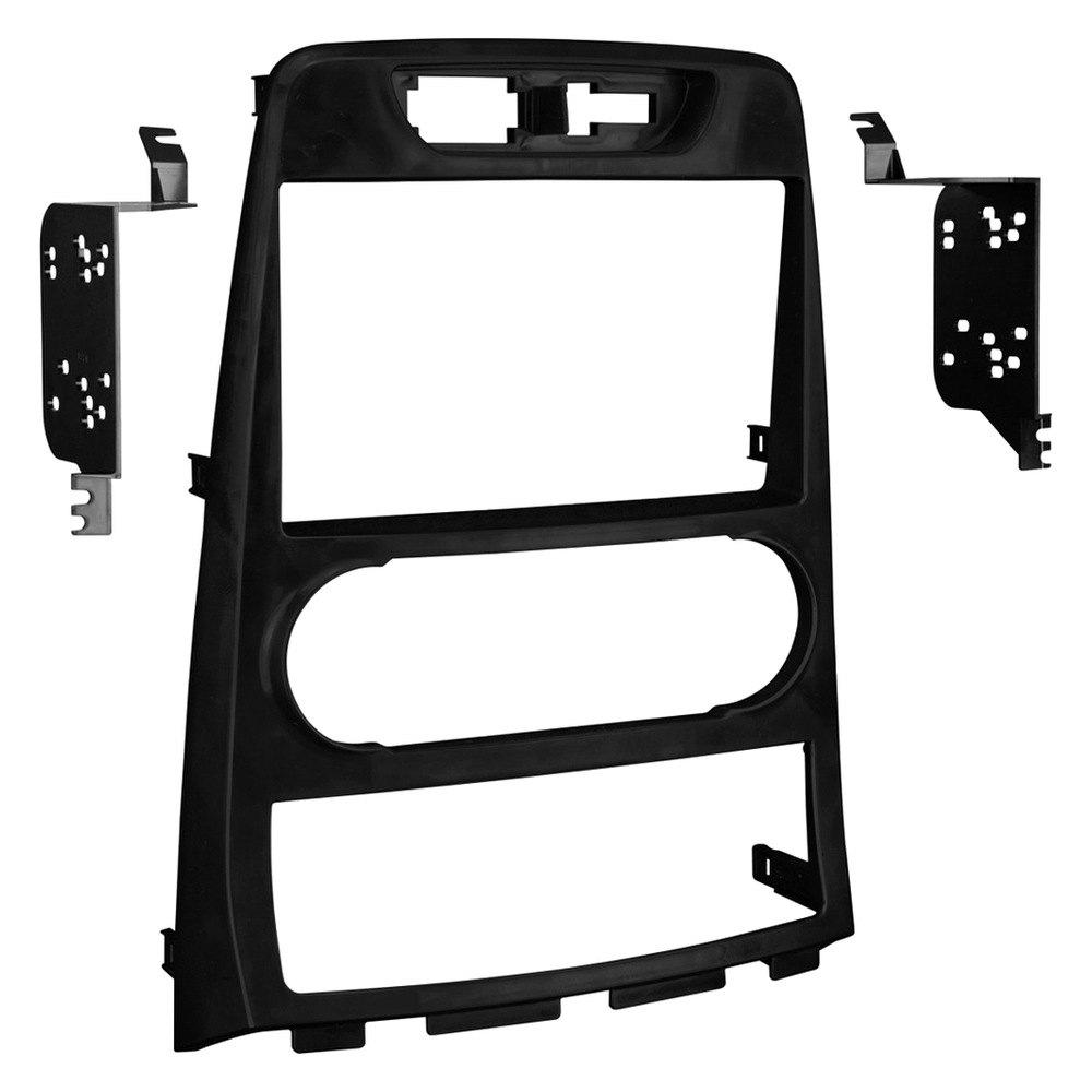 Metra Double Din Stereo Dash Kit Corolla Or Single Radio Wiring Harness Black