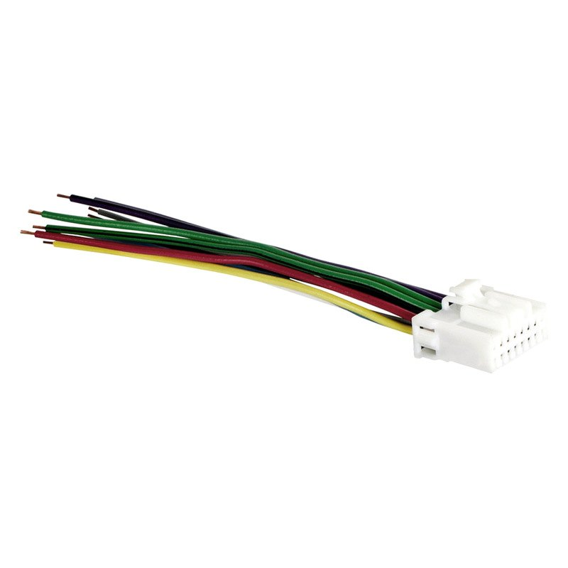 metra 174 pa16 0001 16 pin wiring harness with aftermarket stereo plugs for panasonic